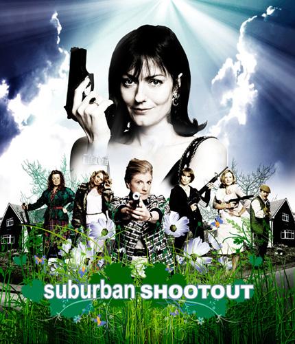 Suburban Shootout Logo