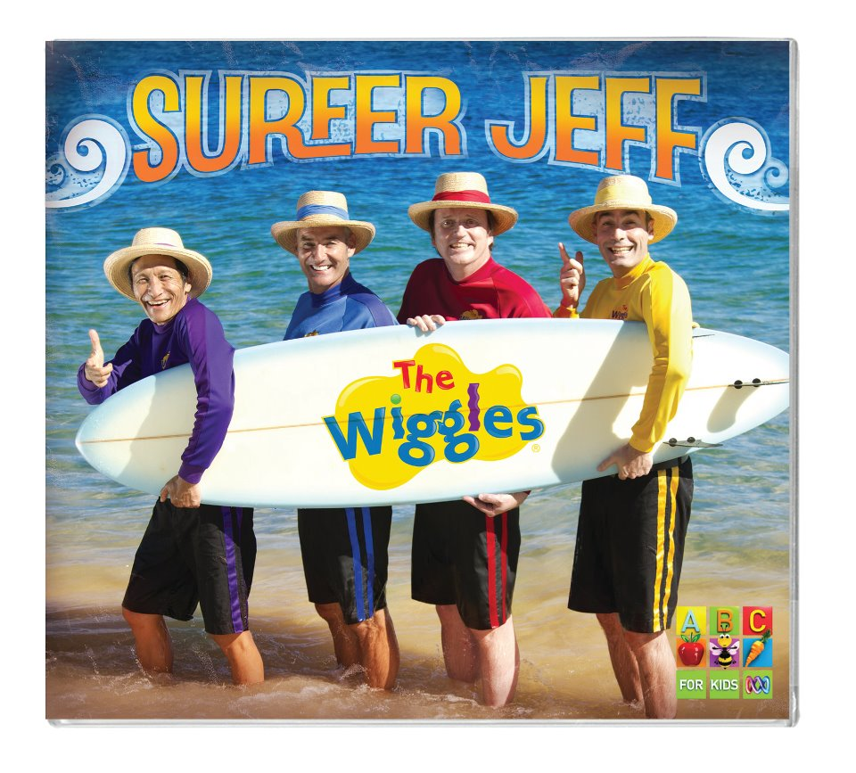 Surfer Jeff Dvd The Wiggles Surfer Jeff