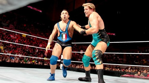 Swagger vs Marella on Raw