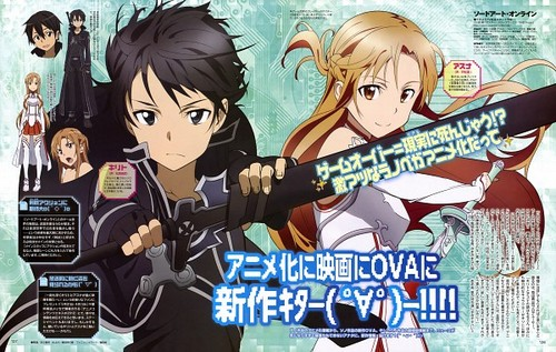 Sword Art Online wallpaper probably containing anime called Sword Art Online