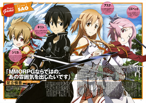 Sword Art Online wallpaper with anime titled Sword Art Online