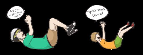 Synchronized Dance!!