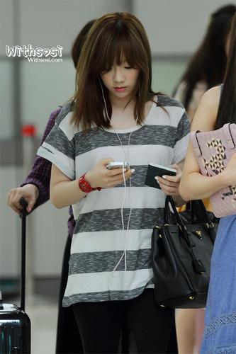 Taeyeon @ Gimpo Airport