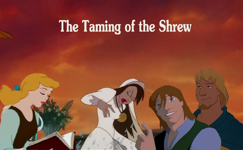The Taming of the Shrew cast and crew talkback