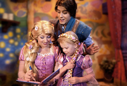 Tangled disneyland - tangled Photo