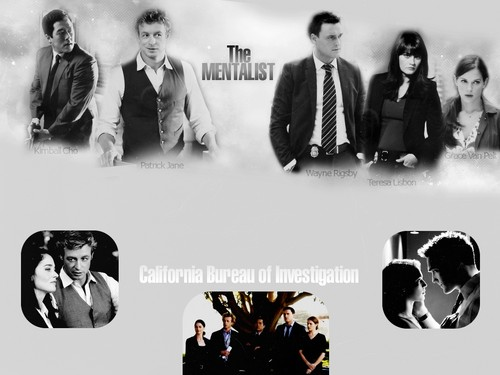 Team - the-mentalist Wallpaper