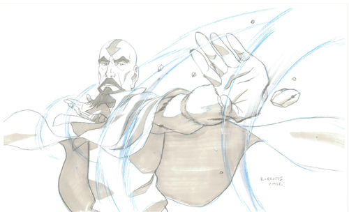 Avatar: The Legend of Korra wallpaper titled Tenzin
