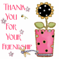 Thank anda for your friendship Berni