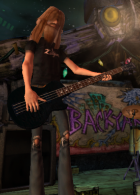 The Bassist - guitar-hero-characters Photo