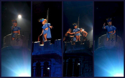 The Born This Way Ball in Melbourne (New Judas outfit)
