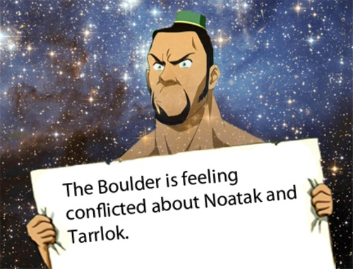 The Boulder has Conflicted Feelings - avatar-the-legend-of-korra Photo