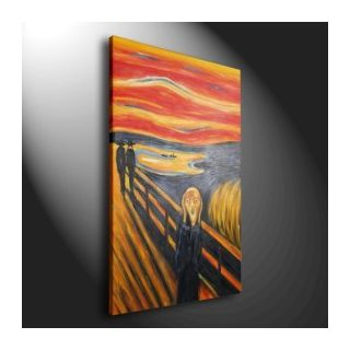 The Scream Oil Painting by Edvard Munch - Fine Art Photo (31273569 ...