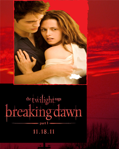 The Twilight Saga:Breaking Dawn Part 1 Poster Fanmade