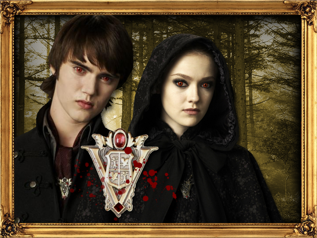 The Witch Twins - Alec and Jane of the Volturi Fan Art