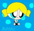 The cute little Bubbles - bubbles-powerpuff-girls photo