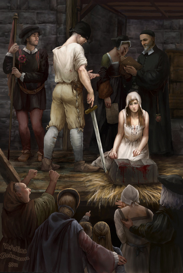 The execution of Jane Grey