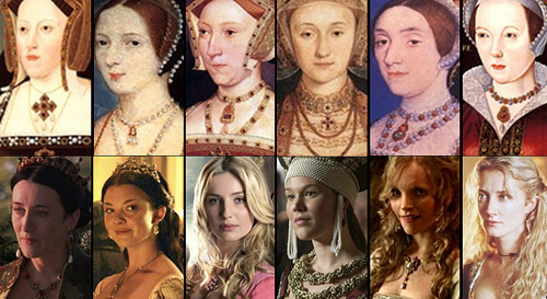 Tudor History wallpaper entitled The six wives of Henry VIII