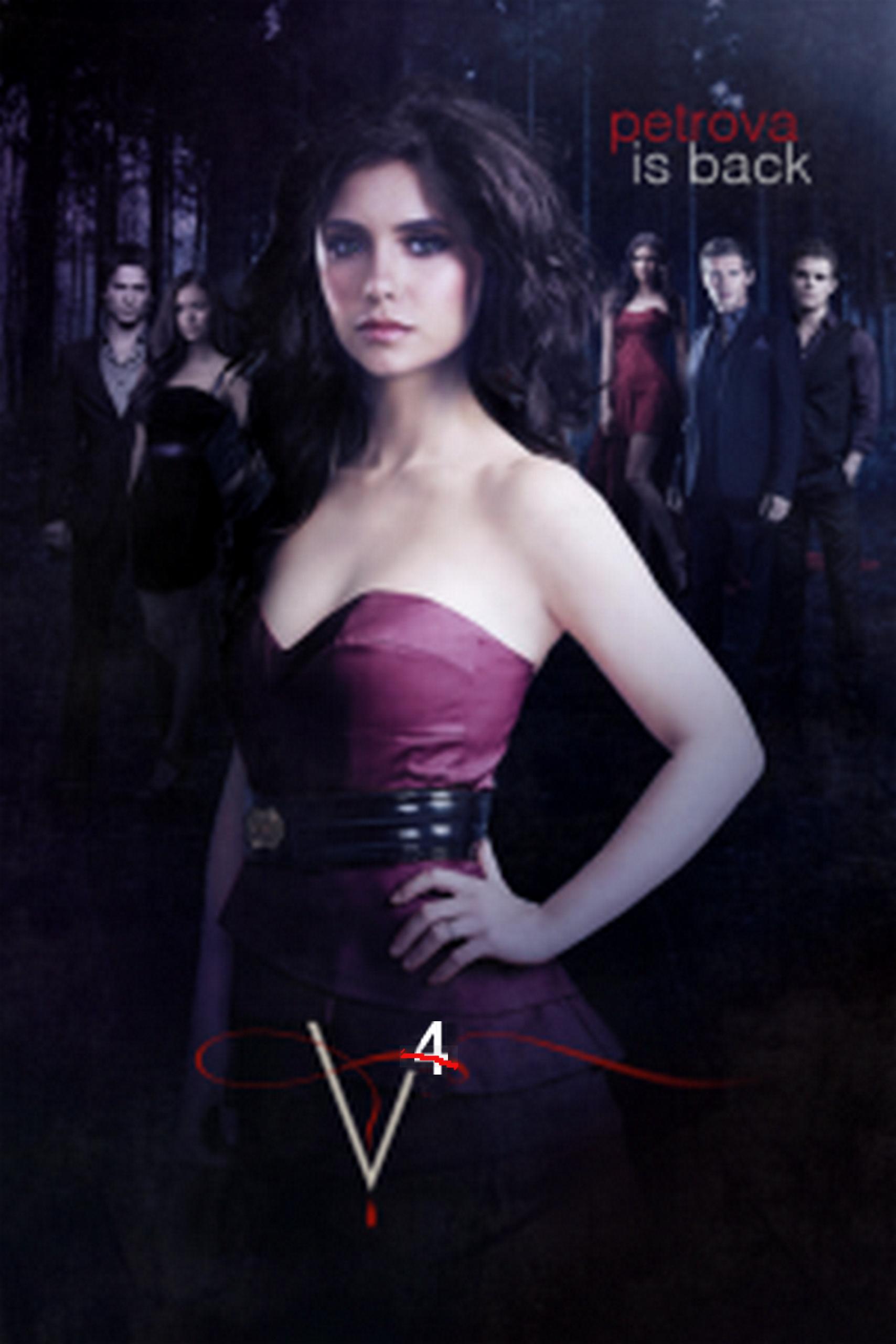 The Vampire Diaries The vampire diaries season 4 poster
