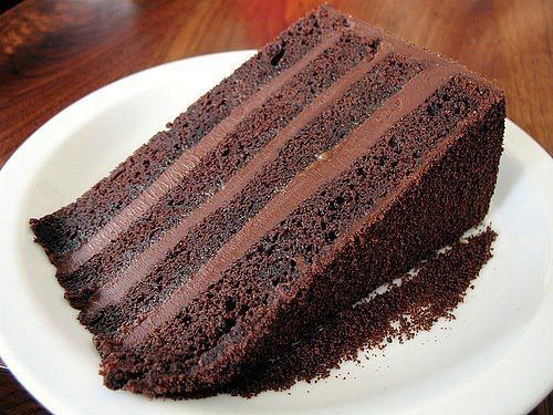 This delicious piece of cake is all for your friendship and kindness for me