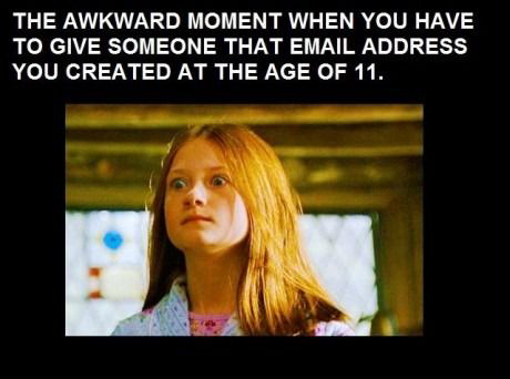 Those Awkward Moments