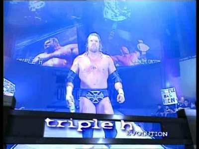 Triple H Entrance, WWE Unforgiven, 2004