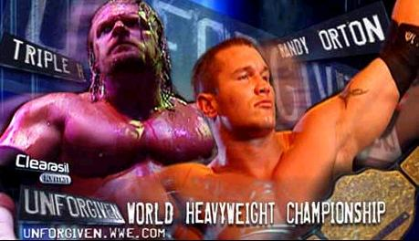 Triple H vs Randy Orton Promo, WWE Unforgiven, 2004