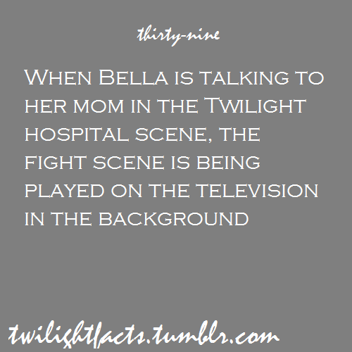 Twilight facts 21-40