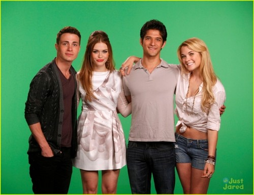 Tyler, Colton Haynes and Holland Roden VISIT MTV'S 10 ON TOP