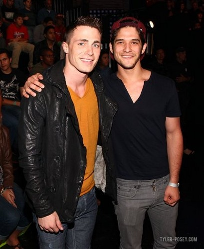 Tyler and Colton at 'America's Best Dance Crew' taping