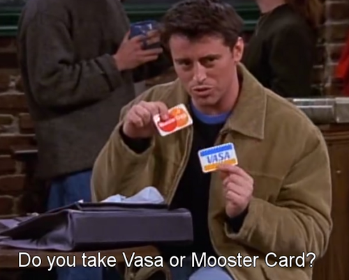 Vasa o Mooster card?
