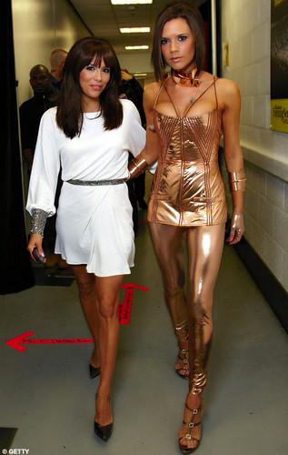 Victoria Beckham and Eva Longoria