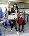 Victoria Beckham and her sons