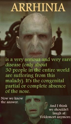 Voldemort's Serious Disease