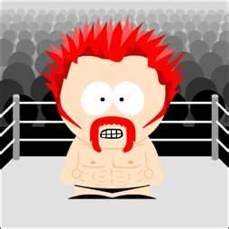 WWE south park cartoni animati