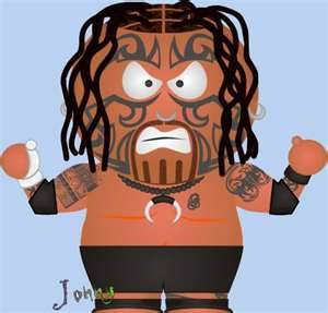 wwe south park caricaturas
