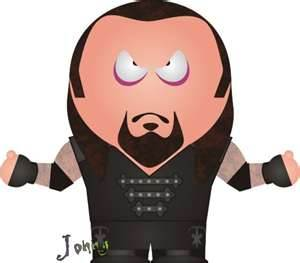 WWE south park cartoons