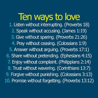 Ways to Cinta