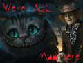 We're all mad here - the-cheshire-cat fan art
