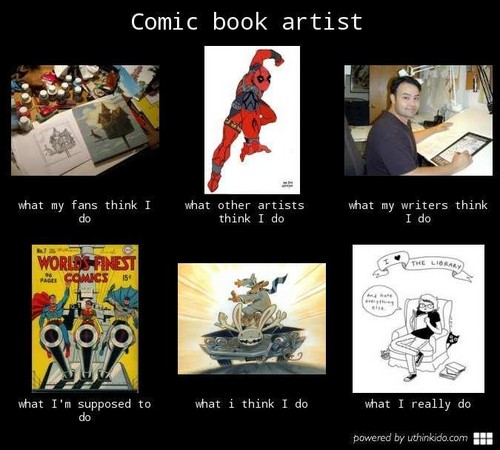 What I Think I Do / What I Actually Do