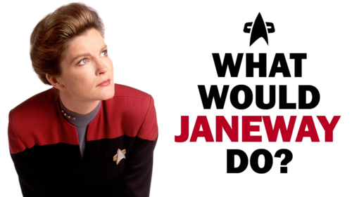 Star Trek Voyager wallpaper possibly with a portrait titled What Would Voyager Do?