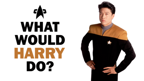 Star Trek Voyager wallpaper with a well dressed person called What Would Voyager Do?