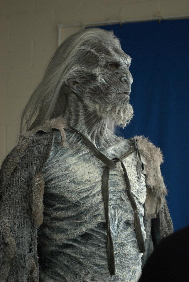 Game Of Thrones Imej White Walker Makeup Effects Hd Kertas Dinding