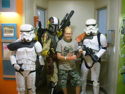 With a few storm troopers