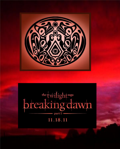 serigala Pack Breaking Dawn Logo