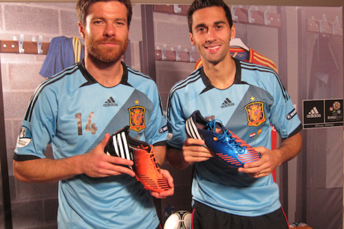 Xabi Alonso and Alvaro Arbeloa - xabi-alonso Photo