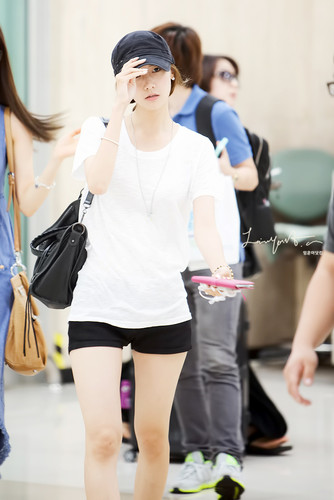 Yoona @ Gimpo Airport - im-yoona Photo