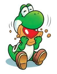 Yoshi eats a Cookie