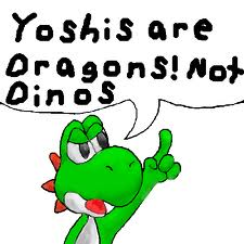 Yoshis are Dragons!