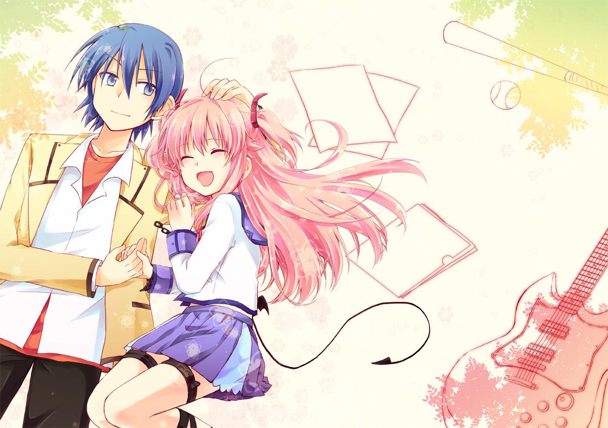 Yui And Hinata Angel Beats Luna Anime Co.: Yui X ...
