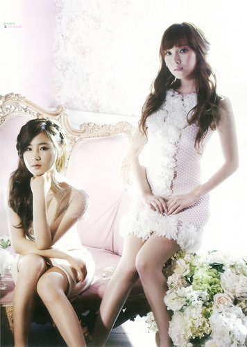 kwon Yuri fondo de pantalla with a bouquet and a bridesmaid entitled Yuri @ High Cut